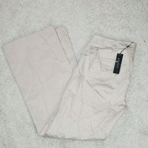 NWT Talbots modern wide leg dress pants trousers 8
